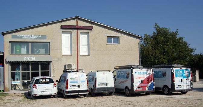 Les véhicules de CCM Vaucluse